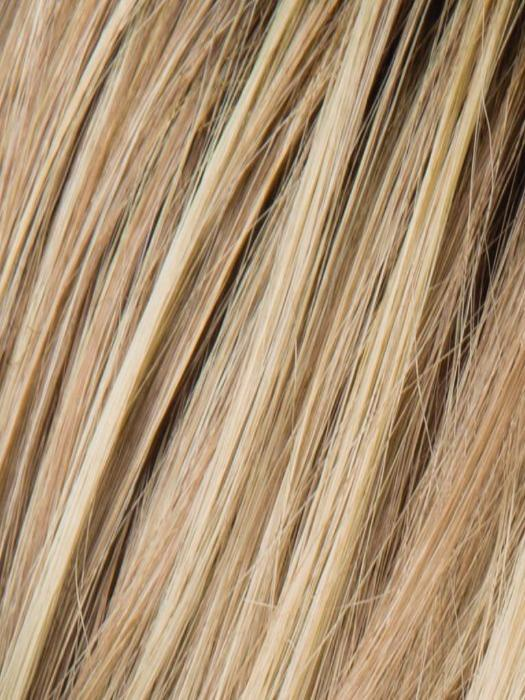CHAMPAGNE ROOTED 22.25.16 | Light Beige Blonde, Medium Honey Blonde, and Platinum Blonde blend with Dark Roots