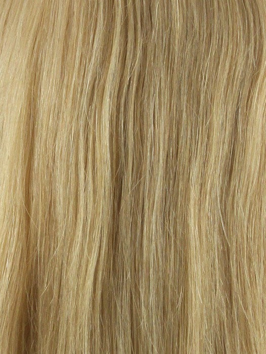 Color 14/22 = Honey Blonde blended w/ Ash Blonde