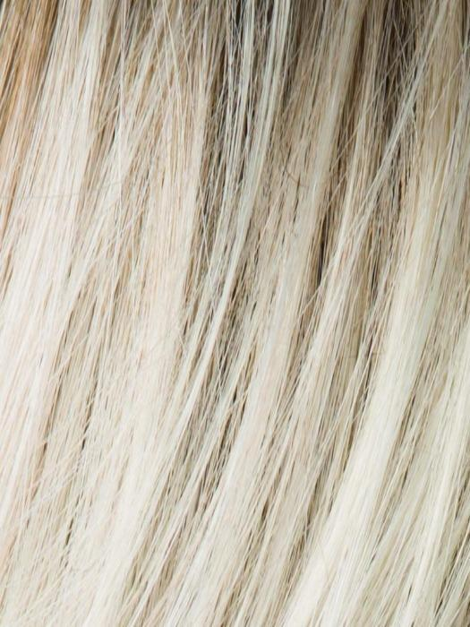 LIGHT CHAMPAGNE ROOTED 23.22.24 | Light Beige Blonde, Medium Honey Blonde, and Platinum Blonde blend with Dark Roots
