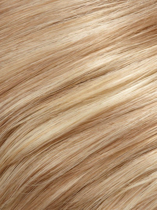 Color 24B22 = Crème Brule: Honey Blonde  & Champagne Blonde Blend