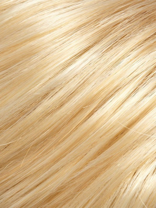 Color 24B613 = Butter Popcorn: Honey Blonde & Warm Platinum Blonde Blend