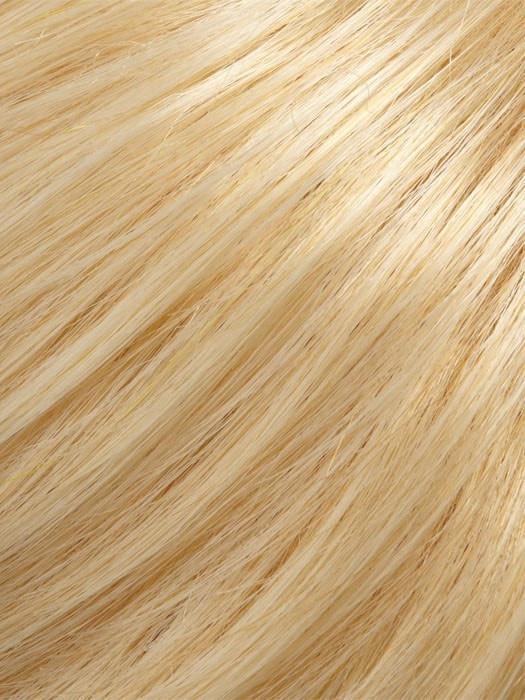 Color 24BT102 = Banana Split: Honey Blonde & Platinum Blonde Blend, w/ Platinum Blonde Tips