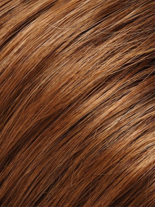 Color 27T33B = Cinnamon Toast: Med Brown & Golden red Blend w/ Strawberry Blonde Tips
