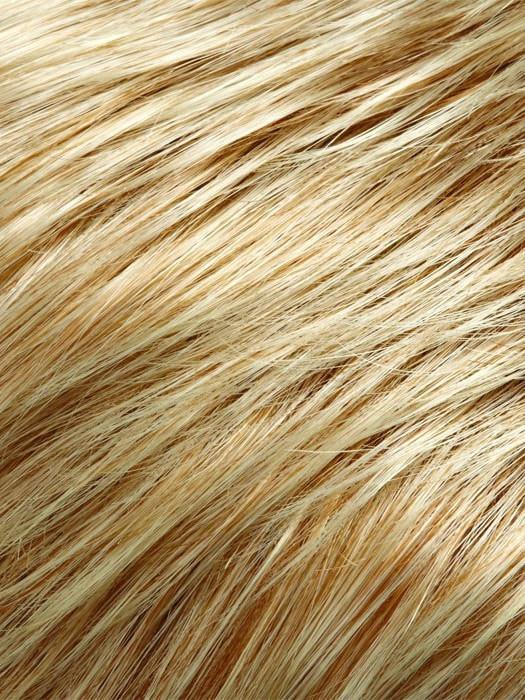 Color 27T613F = Toasted Marshmallow: Strawberry Blonde & Warm Platinum Blonde Blended & Tipped