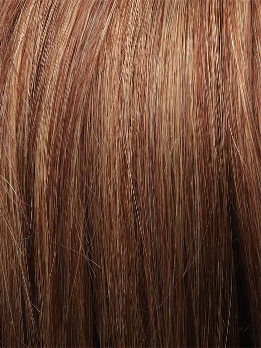 Color 31T26 = Marple Syrup: Amber Red w/ Caramel Blonde Tips