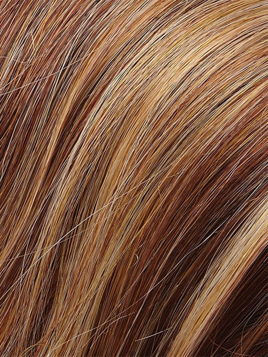Color 31F = Apricot Tart: Amber Red/Strawberry Blonde/Honey Blonde Blend