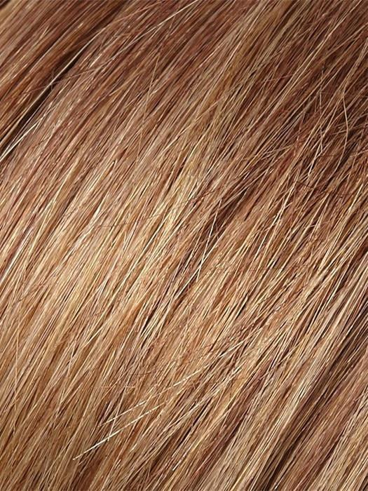 Color 31T26 = Marple Syrup: Amber Red with Caramel Blonde Tips