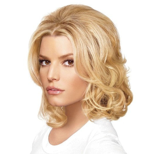 Mid Length Bump Up Volume by Jessica Simpson | Styled Wavy