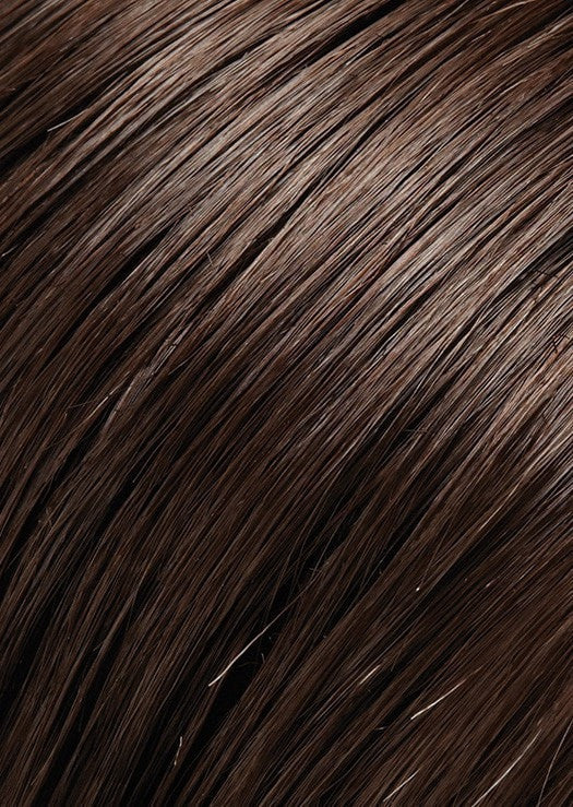 6RN FUDGESICLE NATURAL | Dark Brown (Human Hair Renau Natural*)
