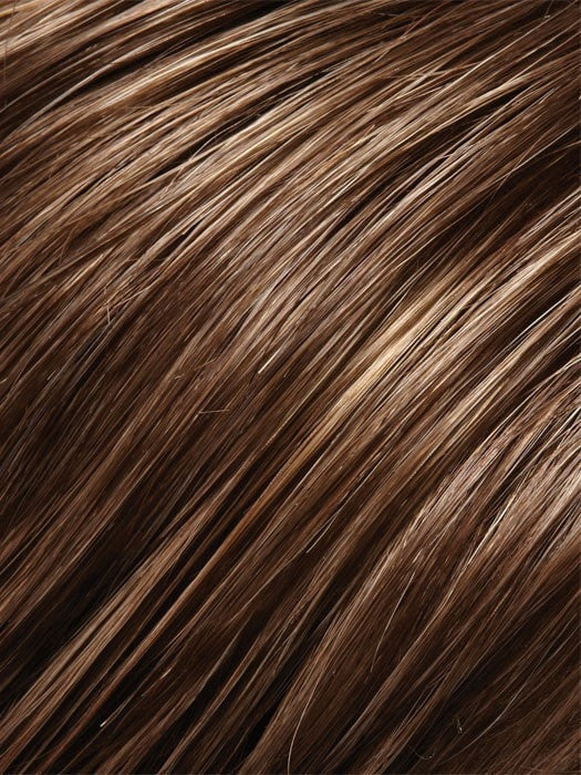 Color 8H14 = Mousse: Med Brown w/ 20% Med Ash Blonde Highlights