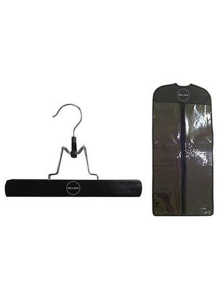 Black Extensions Carrier & Hanger by Bellami