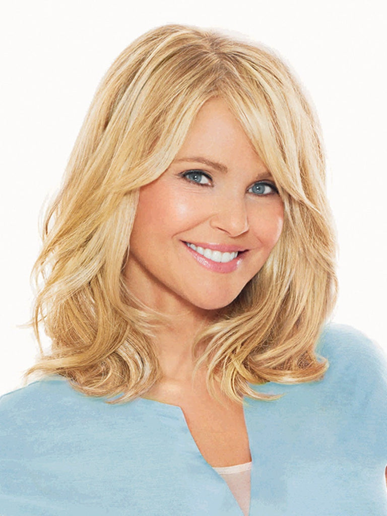 12IN HAIR EXTENSION by Christie Brinkley in HT25 | Medium Golden Blonde