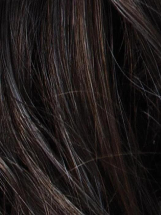 CHOCOLATE SMOKE | Dark Brown/Chestnut Brown Blend with Fine Slate Blue Highlights
