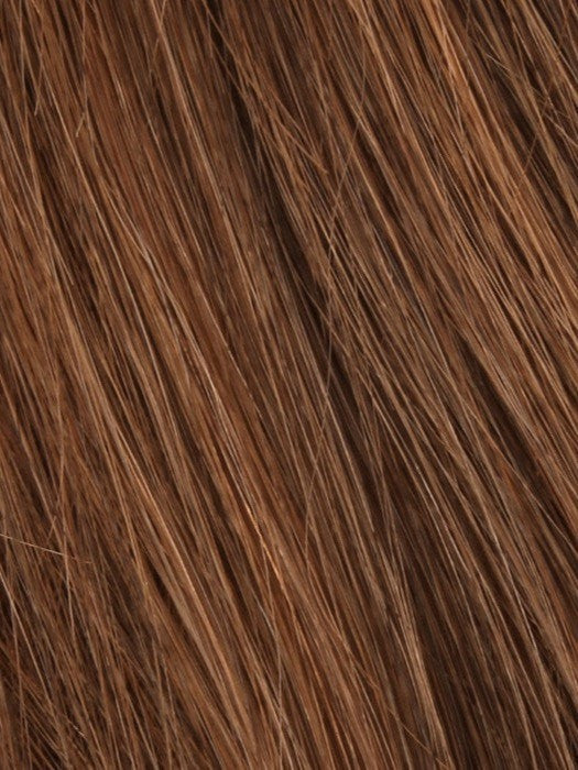 Color Creamy-Cocoa = Dark Brown Blended w. Medium Red