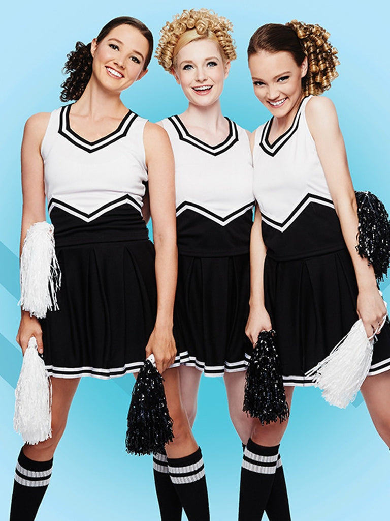 These are great cheer ponytail hairpieces for every team
