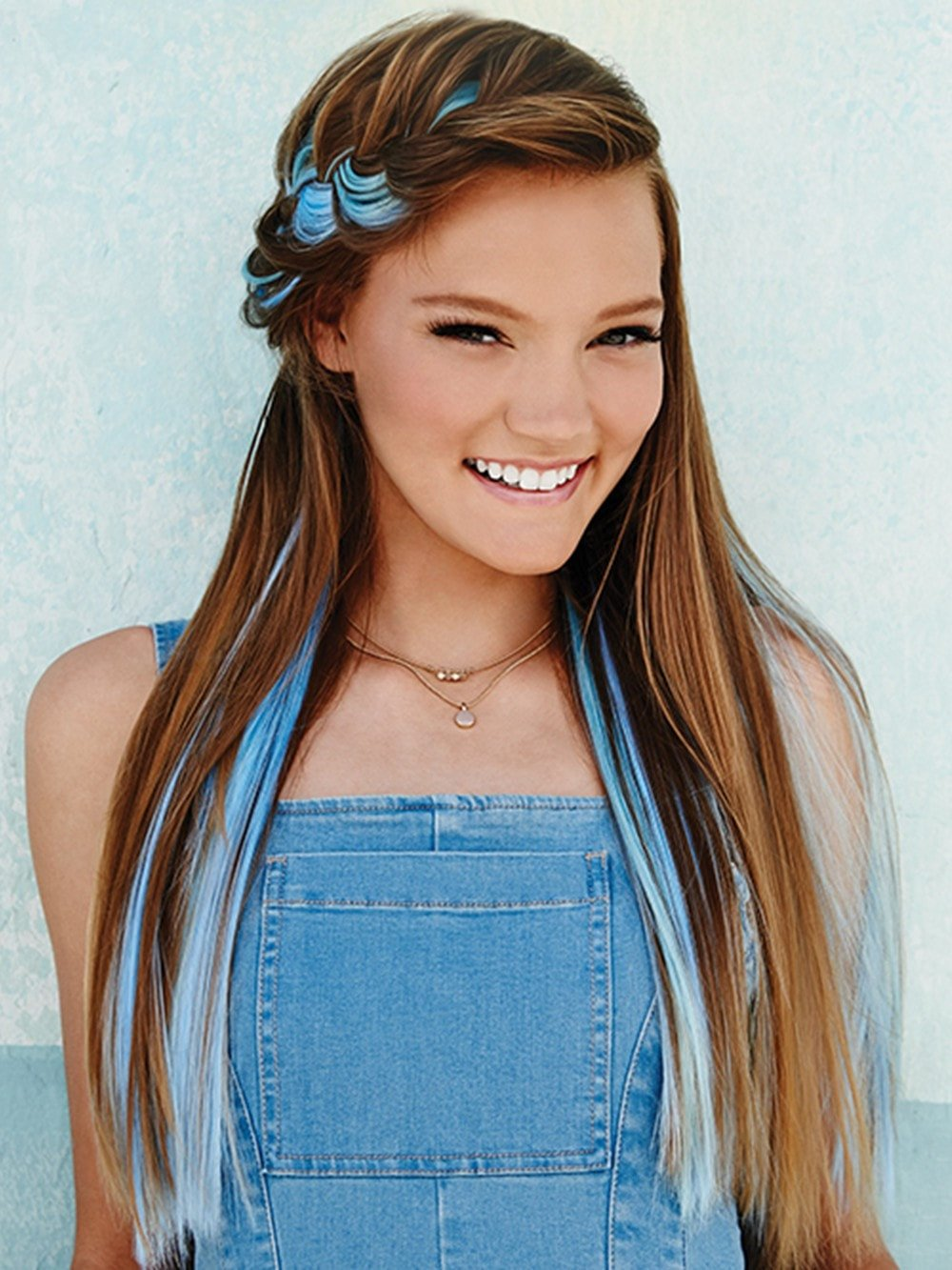 Color Strip Extension Clip In Pop By Hairdo Hair Extensions