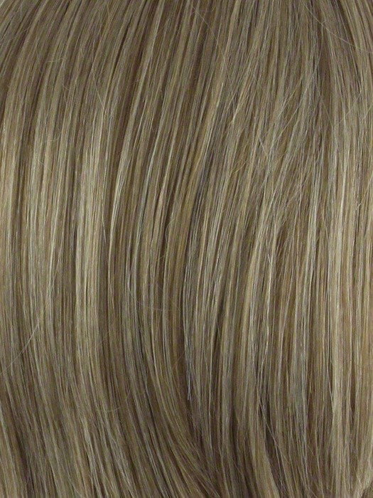 Color Dark-Blonde = 2 toned blend of creamy blonde with champagne highlights
