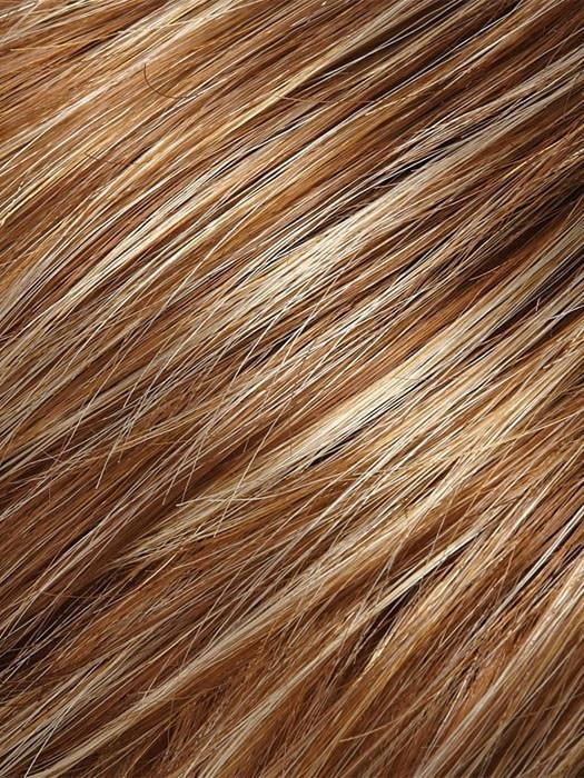 Color FS26/31 = Caramel Syrup: Amber Red w/ Caramel Blonde Highlights