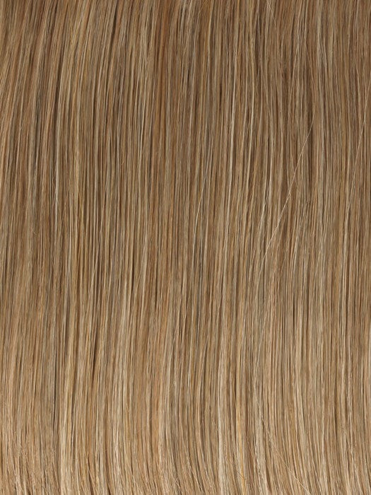 Color GL16-27 = Buttered Biscuit: Medium Blonde with Light Gold highlights