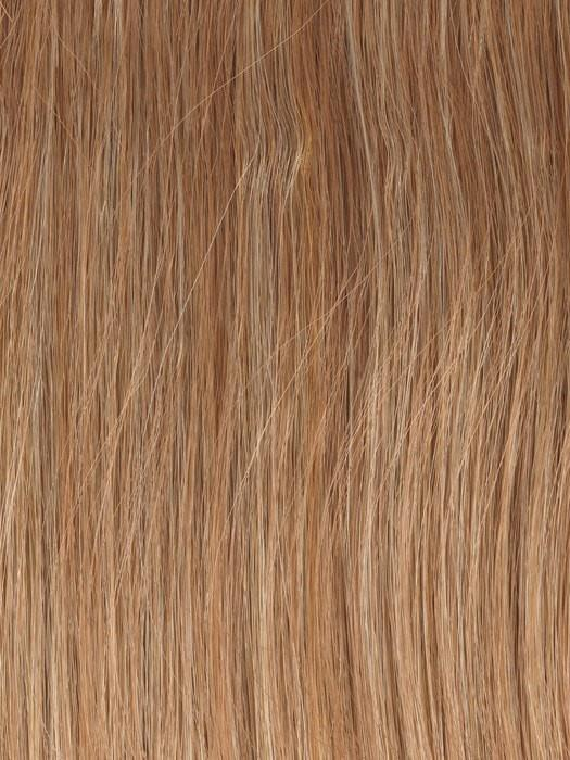 Color GL27-22 = Caramel: Reddish Blonde with Pale Gold highlights