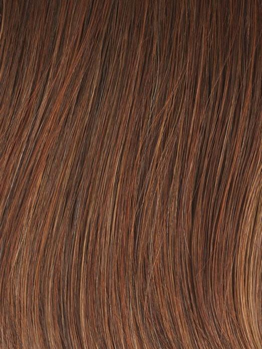 Color GL29-31 = Rusty Auburn: Medium Auburn with subtle Ginger highlights