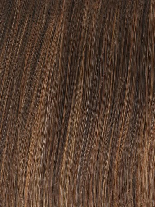 Color GL8-29 = Hazelnut: Coffee Brown with Soft Ginger highlights