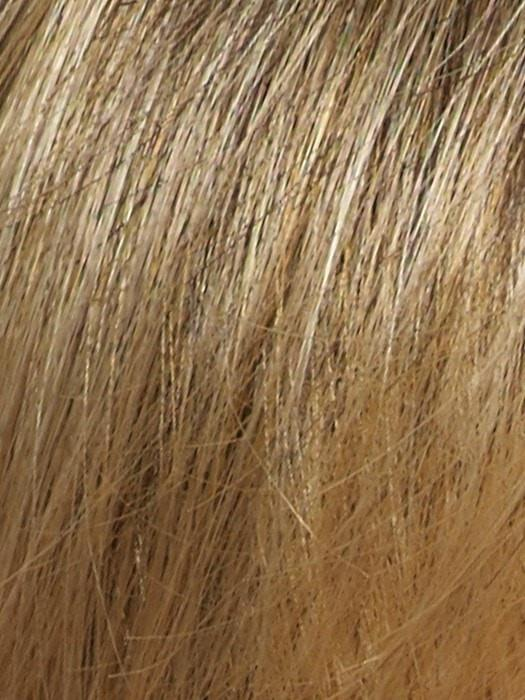 Color Harvest-Gold = Medium Brown and Dark Gold Blonde 50/50 blend