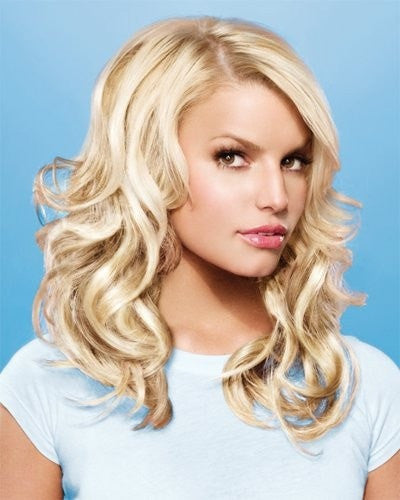 "Color N/A | 16"" 10 Piece Human Hair Extension Set by Jessica Simpson"