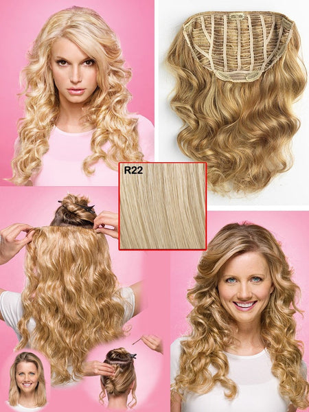 "Color N/A | 22"" Relaxed Curl Hair Extension by Jessica Simpson"