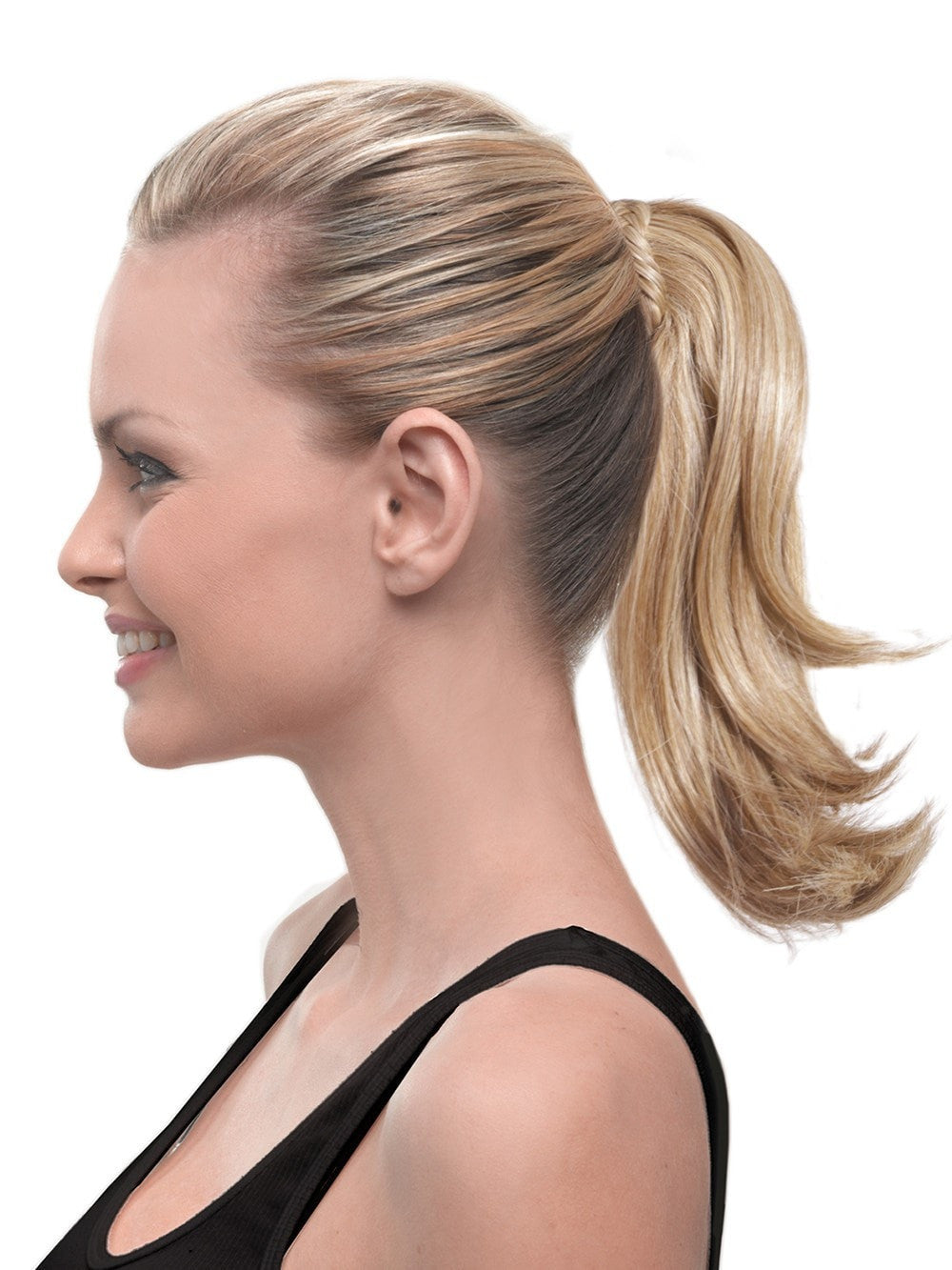 10 Claw Clip Pony With Braid By Hairdo New Hair Extensions