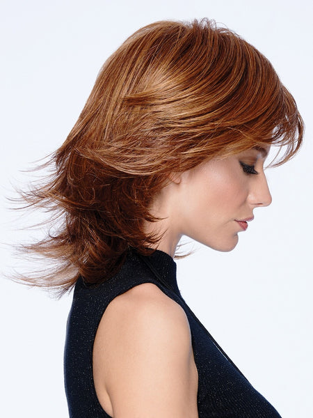 MODERN FLIP by Hairdo in R3025S+ GLAZED CINNAMON | Medium Reddish Brown With Ginger Highlights On Top