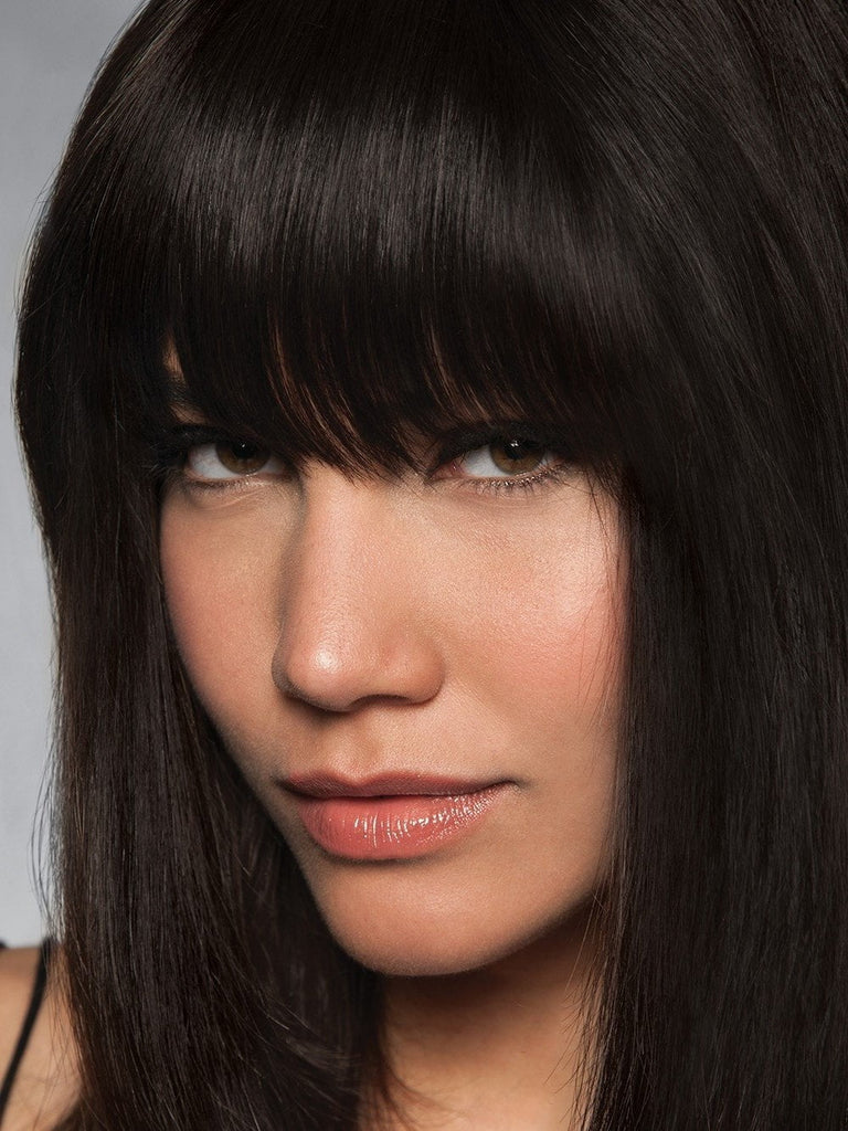 Clip-In Human Hair Fringe/Bang by HAIRDO in Color R3HH