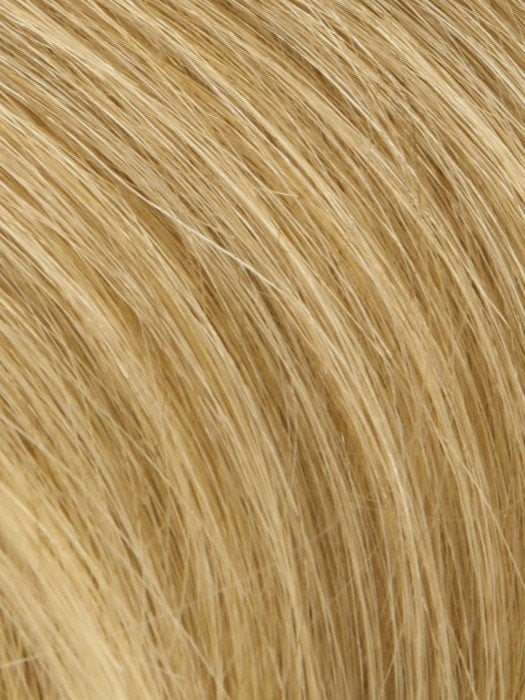 Color Medium-Shade-Blonde = Ash Blond Blended w. Golden Blond Tones, Blond Tip