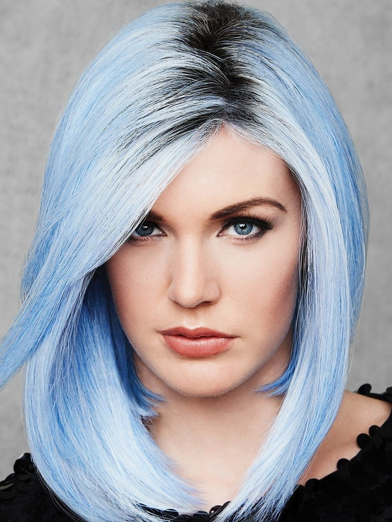 Out Of The Blue by hairdo allows you to surprise the world with this bold and beautiful rooted blue
