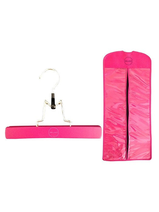 Pink Extensions Carrier & Hanger by Bellami