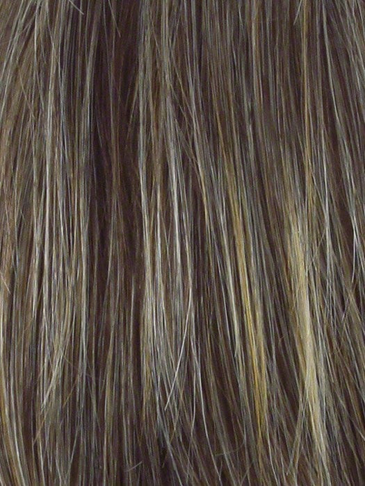 R11S GLAZED MOCHA |  Medium Brown with Gold Blonde Highlights