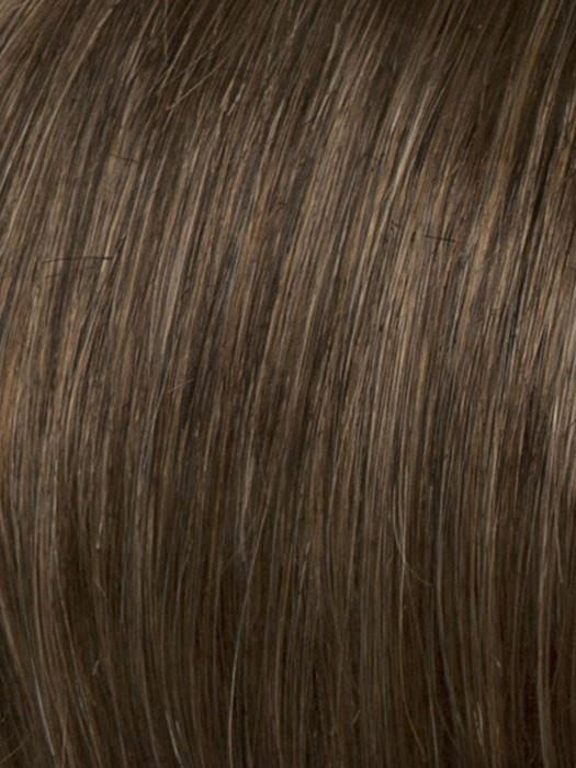 Color R12T = Pecan Brown: Light Brown with Subtle Reddish Brown Tips