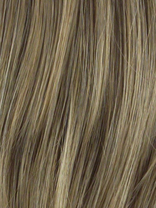 Color R1416T = Buttered Toast: Dark, ash blonde with golden blonde tips