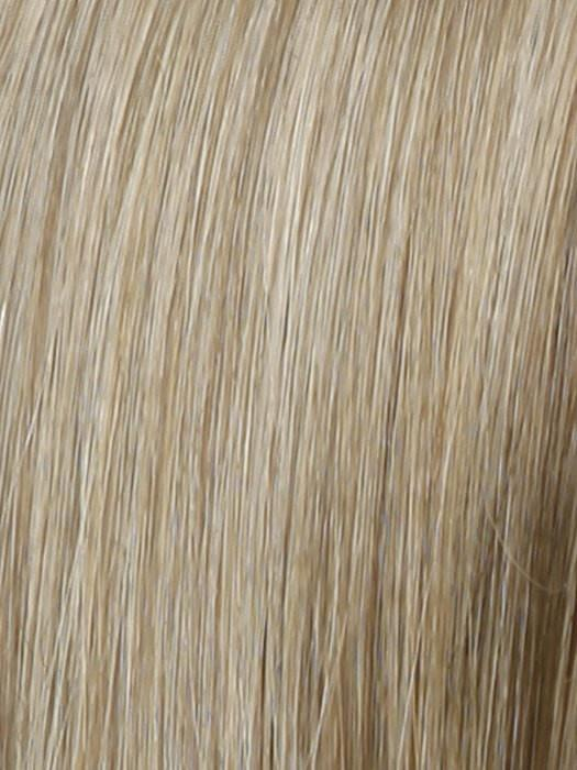 Color R1621S+ = Glazed Sand: Medium Honey Blonde With Platinum Blonde Highlights and Ash Brown Lowlights