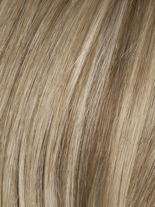 Color R1621S = Glazed Sand: Honey blonde with ash highlights on top