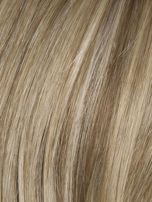 R1621S GLAZED SAND | Dark Natural Blonde with Cool Ash Blonde Highlights on Top