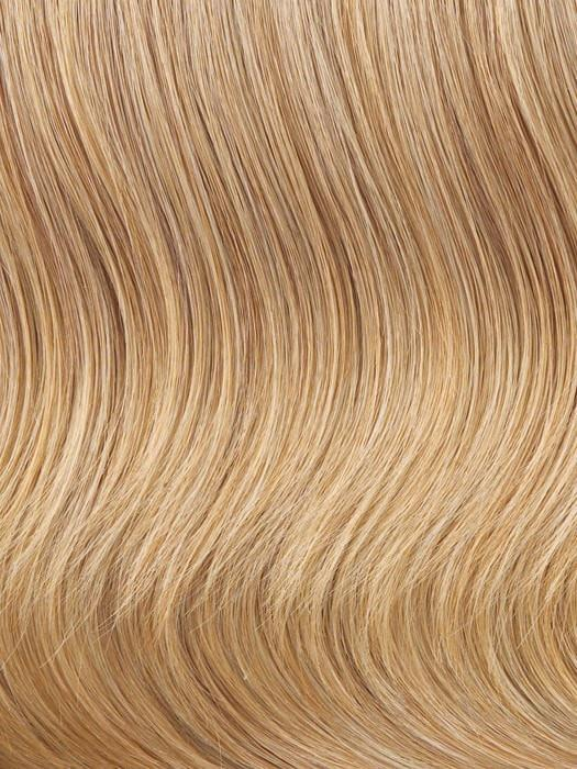 R25 = GINGER BLONDE: Golden Blonde with subtle highlights