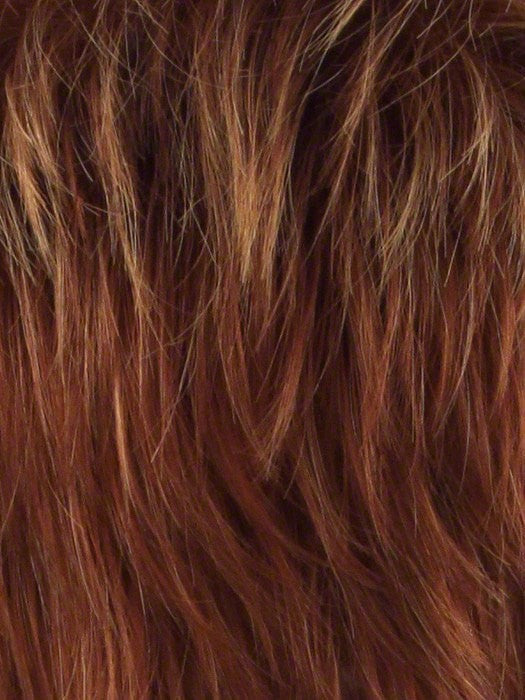 Color R28S = Glazed Fire: Fiery red with bright red highlights on top