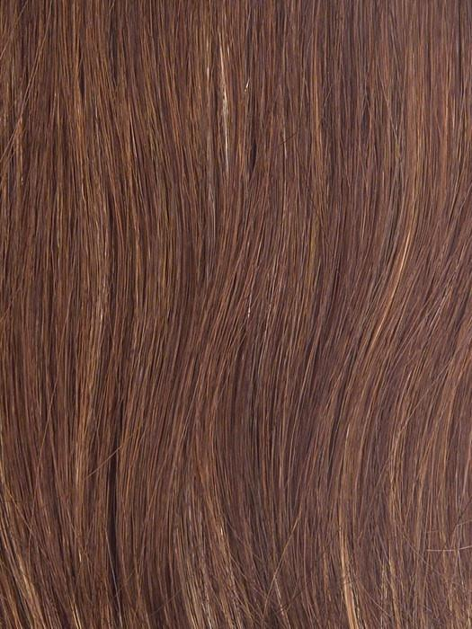 R3025S GLAZED CINNAMON |  Medium Reddish Brown with Ginger hightlights