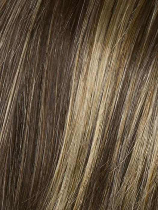 Color R8/25 = Golden Walnut: Rich, Dark Brown with Gold Blonde Highlights