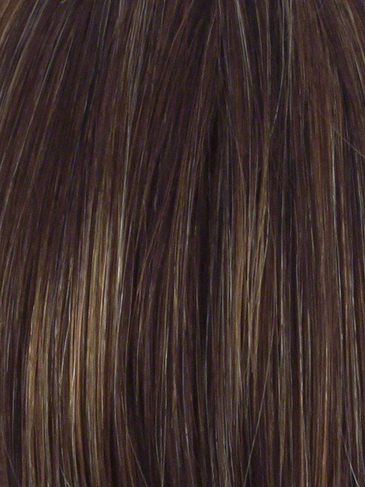 R829S GLAZED HAZELNUT | Medium Brown With Ginger Highlights On Top