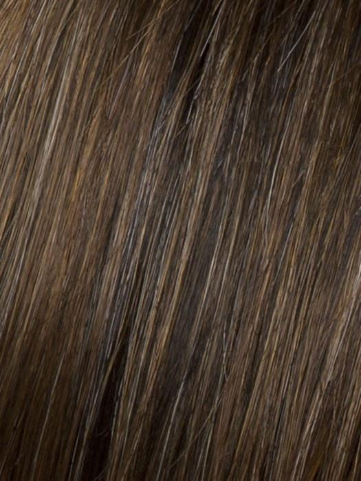 Color R829S = Galzed Hazelnut: Med Brown w/ Ginger Highlights on top