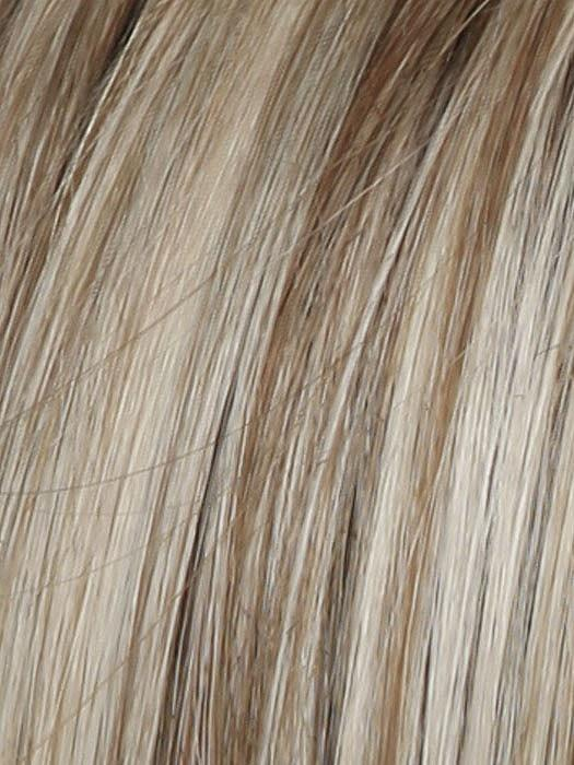 Color RL19/23SS = Shaded Biscuit: Cool Platinum blonde with subtle highlights and medium brown roots