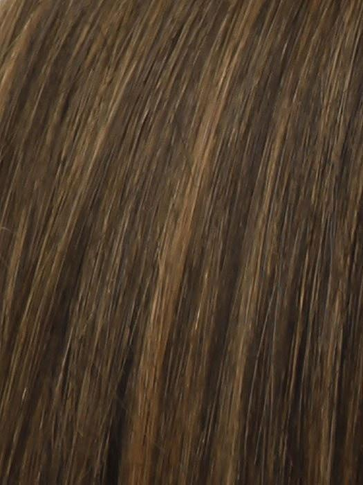 Color RL5/27 = Ginger Brown: Warm Brown with Highlights