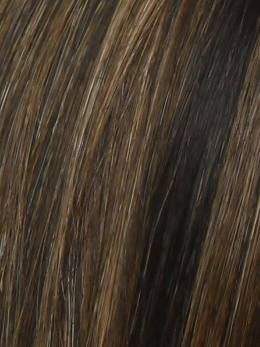 Color RL8/29 = Hazlenut: Medium Brown with Ginger Highlights